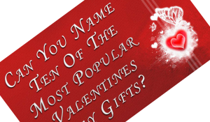 Name Ten Valentine's